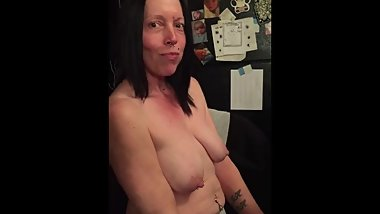 Hot milf eating