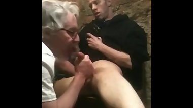 Straight Boy Blown By Older Man