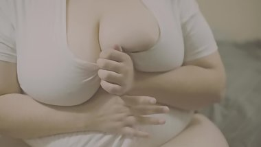 BBW Solo Fun, First Time on Camera