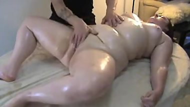 Sexy leisurely massage