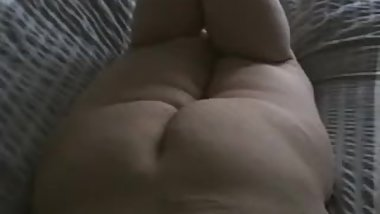 Blow job from my BBW lady