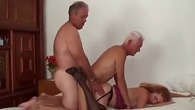 Mature Bi Threesome Fuck1