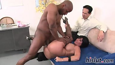 Shay Foxy bounces on a BBC