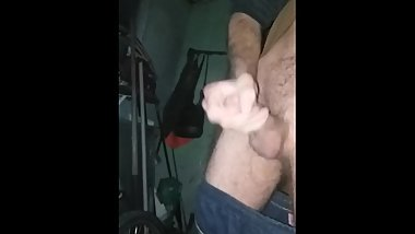 Cold in public. Shaky leg orgasm. Big dick loud moaning mature tattooed guy