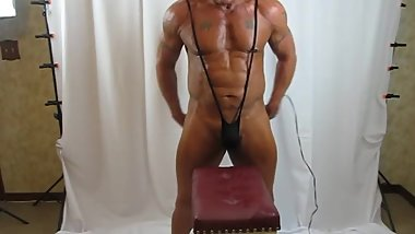 SLING THONG GEAR AND MY HEAVY DUTY MASSAGER: