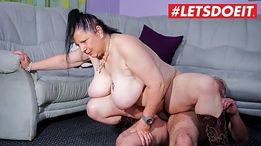 LETSDOEIT - German Wife Cheating with The Neighbour