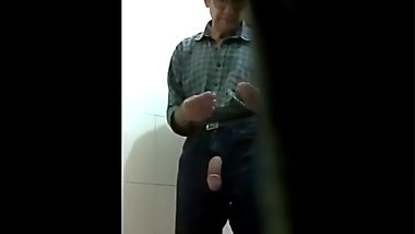Toilet Big Old Cock Action