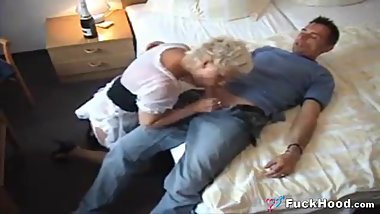 Cheating Married Man Fucks Hot Mature Hotel Maid