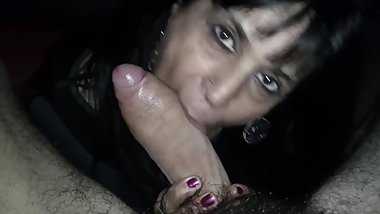 Mature Latina Milf Sucking Dick