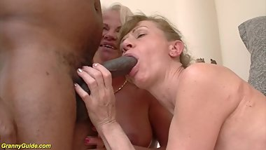 horny 86 and 72 years old grannies rough interracial group banged