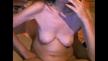 Mature Cam Lady Smoking (with Smoker's Cough!)