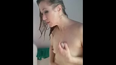 Bella Raine in the Shower