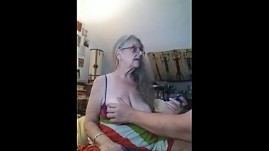 July 11th 2018 - Mature Big Tit Bitch get's face fucked