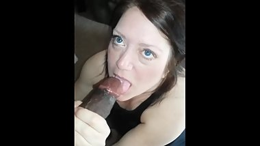 My Big black cock for blue eyed milf.