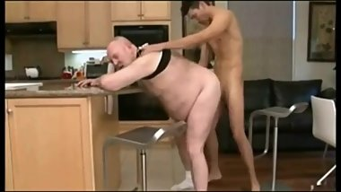 Chubby Daddy Fucked by Chaser