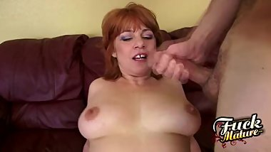 Calliste Gets Jizz On Her Tits