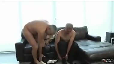 Tow hot mature guy fuck