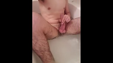 Horny in the tub