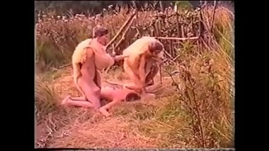 Tribe Guy Is Captured Fucked, More Tribe Guys Capture More Boys