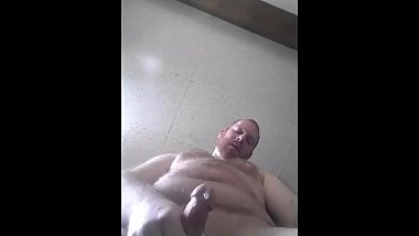 Cumming as I kneel Over You